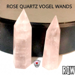 Rose Quartz Vogel Wand Rock specimen